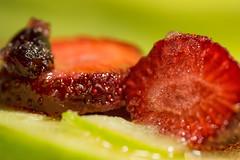 Glazed fruits (Gianna Fou.) Tags: macromonday glaze strawberries fruits apple