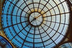 Techo de la Galería Vittorio Emanuele, Milán, Italia. (andréscampañas.) Tags: techo roof window structure vittorioemanuele europe glasses italy europa italia milano milán galleria galería