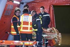 2017MINT0299 Déplacement en Ariège - exercice attentat  - yves MALENFER (Ministere de l'Intérieur) Tags: foix france exercice gestion crise simulation tuerie mass ariège matthias fekl