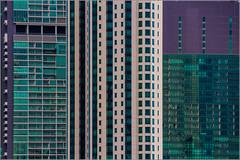 Bangkok: Urban details [Explored] (Hervé Marchand) Tags: 2017 thailande bangkok repetition windows details urbain couleurs immeuble lines 52 challenge building