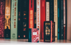 The Canterville Ghost. (achterbahnmädchen) Tags: books bokeh bookshelf home room decoration rheinlandpfalz rhinelandpalatinate germany deutschland achterbahnmädchen europe europa colors colours love hobby