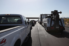 Interstate 10 (twm1340) Tags: 2017 ca california interstate highway i10 chiriaco summit exit west westbound heavy traffic stopped accident stop