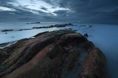 ~ Wrong Time ~ (Tan Andy (Sorry if I did not reply)) Tags: moss mossy green malaysia sabah borneo kudat tindakondazang coast beach longexposure d7200