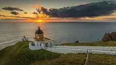 Imminent (Pureo) Tags: stabbs lighthouse leefilters sunrise clouds seascape sea landscape northsea berwickshire canon canon6d