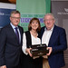 Tim Fenn IHF CEO, Mary Bergin, Green Hospitality and Joe Dolan IHF President