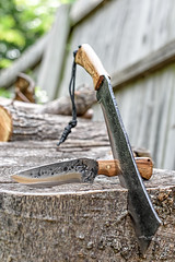 custim knives by Ryu Lim - Blacksmith