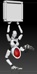 A ga maeba, kuwashime yoinikeri. (Lucia Cyr) Tags: gacha losthaven cyborg robot gits