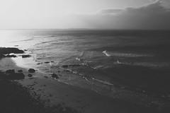 The Obituaries (Swebbatron) Tags: australia byronbay sunset dusk newsouthwales view ocean sea surf surfer waves swell fuji radlab 2008 travel backpacker lifeofswebb blackandwhite mono landscape seascape wategosbeach littlewategos
