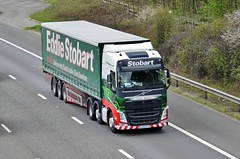 Eddie Stobart 'Juliana Marlene' (stavioni) Tags: esl eddie stobart truck trailer lorry juliana marlene kx65oyb h4457 volvo fh4 fh 460