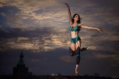 TETA (mister evans) Tags: london riverthames nikon sb900 d800 portrait fuelgirls tetamariastone stormysky moody ballet incompletestrobistinfo removedfromstrobistpool seerule2