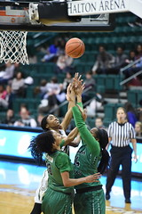 WBasketball-vs-North Texas, 1/26, Chris Crews, DSC_5213 (PsychoticWolf) Tags: 49ers basketball charlotte cusa d1 green mean ncaa ninermedia north nt texas unc uncc unt womens