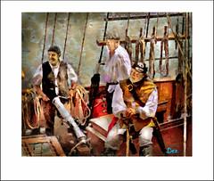 PIRATES (DEREK HYAMSON . OVER 5 AND A HALF MILLION) Tags: hdr candids pirates liverpool impression albertdock