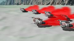 The Last Jedi Teaser in Lego (hachiroku24) Tags: lego speeder last jedi teaser animation moc