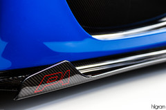 McLaren P1 (Hilgram Photography) Tags: mclaren p1 hypercar badge sideskirt automotive auction amelia island detail carbon fiber