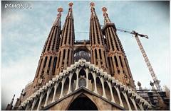 Sagrada Familia.....fachada de La Pasión (# RAMÓN Mortadelo #) Tags: mortadelo65pp barcelona sagradafamilia torres antoniogaudi contrapicado textura josepmariasubirachs fachadadelapasión