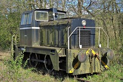 HC D1388/1970 (Down to nowhere) Tags: claire industriallocomotive hudswellclarke hudswellclarkeandcoltd 040dh hcd13881970 blodwelljunction cambrianheritagerailways cambrianrailwayssociety tanatvalleylightrailway