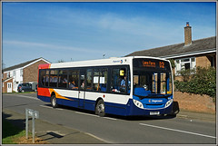 39698, Burns Road (Jason 87030) Tags: daventry bus e200 headlands burnsroad stagecoach langfarm d2 sony alpha a6000 ilce nex lens tag flickr publictransport roadside kx08hrf 39698