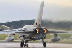 (scobie56) Tags: panavia tornado gr4 za597 063 12 squadron raf royal air force marham lossiemouth lossie moray scotland