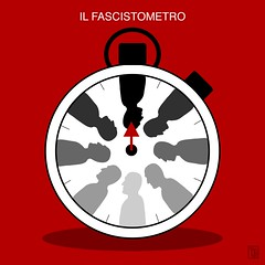 FASCISTOMETRO (Yele Maria) Tags: antifascista antifa antifascism antifascist fascio fascisti atestaingiù propagnda illustrazionedigitale illustrazione digitalillustration illustration graphicdesign