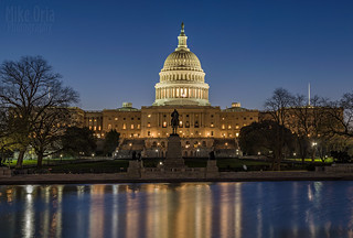 Capitol at Blue Hour