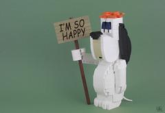 Droopy (J.B.F) Tags: jbf jimmyfortel 6kyubi6 lego moc brickbuildcharacter texavery droopy cartoon dog