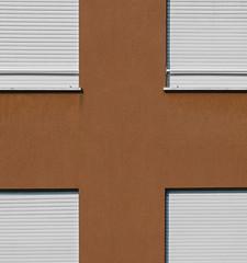 cross (Rino Alessandrini) Tags: astratto forme geometrie croce finestre facciata tapparelle minimalista urbano quadrato abstract shapes shutters facade windows cross geometric minimalist urban square