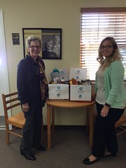 All Faiths Cremation Society - Comfort Keepers' Food Drive