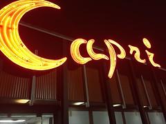 Capri Lanes (jericl cat) Tags: columbus ohio 2016 capri lanes neon bowling alley night red glow roadside vintage americana font typography bowl