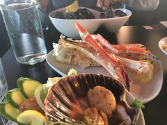 Seafood for dinner (corsi photo) Tags: vikingstar europe vacation cruise bergennorway scallops crablegs mussels