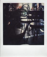Caffe Reggio, Greenwich Village. NYC (Peter William Knight) Tags: sx70 theimpossibleproject impossible nyc newyork caffereggio filmwasters filmisnotdead roidweek springpolaroidweek2017 polaroid polaroidweek instantfilm film colourfilm