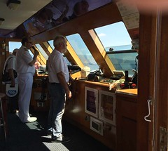 This is the captain speaking IMG_3779 (mygreecetravelblog) Tags: greece peloponnese outdoor landscape water sea ship boat excursionboat tourboat mvmantalena mantalenatourboat pegasuscruises pegasuscruisesmantalenatourboat pegasuscruisesship captain shipscaptain shipsbridge