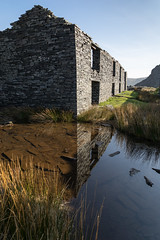Reflections Rhosydd (ShrubMonkey (Julian Heritage)) Tags: rhosydd quarry managers house conglog cwmorthin slate disused derelict abandoned forgotten ruin ruined eerie landscape valley wales building secluded isolation mountains snowdonia sonyalpha