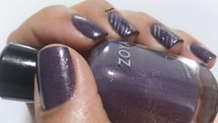 Neeka - Zoya (Raabh Aquino) Tags: unhas esmalte zoya roxo glassflecks shimmer