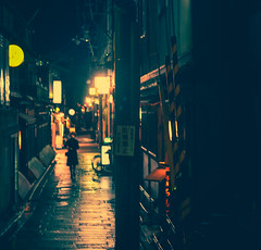 IMG_2738-Edit-2-2 (noahrfleming) Tags: reflection wet rain japan pontocho kyoto night alley travel