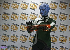 Comicdom Con Athens 2017: Group Cosplays: Talos Workshop as Mass Effect (SpirosK photography) Tags: comicdomcon comicdomcon2017 comicdomconathens2017 athens greece convention spiroskphotography prejudging photobooth game videogame videogamecharacter cosplay costumeplay groupcosplay