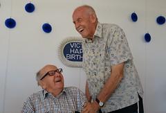 Vic and James (Gillian Everett) Tags: carramar lunch vic 100th birthday