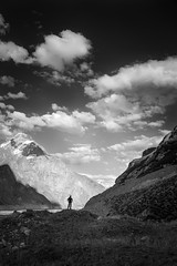 Prelude To The Heavens (ZaIGHaM-IslaM) Tags: heavens mountains snowlake biafo trekker track edge ridge wondering pakistan gilgitbaltistan karakoram zaghami zumi wssa landscape mountainspakistan world beautiful lonetrekker loneperson