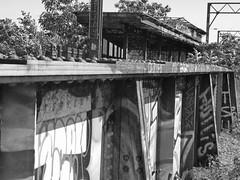 rv69a (daily observer) Tags: readingviaduct philadelphia abandonedphiladelphia springgardenstation abandonedrailroad abandonedtrainstation railroaddepot graffiti philadelphiagraffiti
