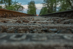 railway track (Design-photo.cz) Tags: d750 nature sky spring train trail railway track railwaytrack tree