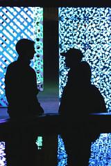 LaKuNa (Wackelaugen) Tags: lakuna leonberg germany light installation silhouette silhouettes two reflection canon eos photo photography wackelaugen explore explored