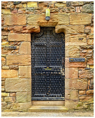 The Outer Lodge Door - Bamburgh Castle (S.R.Murphy) Tags: april2017 bamburgh bamburghcastle fuji1855mm fujifilmxt2 door theouterlodge