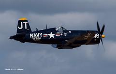 170311_044_TiCo_F4U (AgentADQ) Tags: tico warbird air show 2017 titusville florida airshow wwii fighter plane airplane aviation jim tobul korean war ace vought f4u4 corsair hero