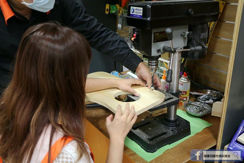 特力屋木工手作課程寵物餐桌DIY 台北文創074