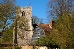 Romney Marshes Kent (Adam Swaine) Tags: ruralkent rural ruralvillages ruralchurches church churchtower cottages kentishvillages kent hamlets england englishvillages english canon britain british countryside counties spring