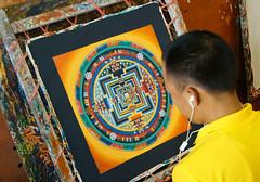 Master Artist Paints Mandela (dcoorey) Tags: mandela master artist