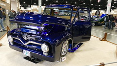 1955 Ford F100 (bballchico) Tags: 1955 ford f100 pickuptruck custom carshow northwestrodarama johnrydzewski tracielynrydzewski