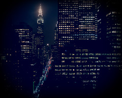 Night Scene, New York