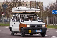 Fiat Panda (Krzychu92) Tags: italy youngtimer fiemme suwałki poland pl