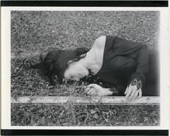 Roidweek Spring 2017 6.2 (denzzz) Tags: portrait polaroid roidweek analogphotography filmphotography instantfilm hylasmag thepolavoid fujifp3000b polaroid195 blackwhite blackandwhite skancheli urbex abandoned greenhouse