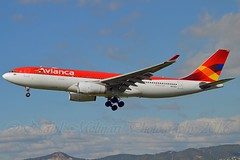 Avianca N975AV Airbus A330-243 cn/1224 @ LEBL / BCN 07-11-2016 (Nabil Molinari Photography) Tags: avianca n975av airbus a330243 cn1224 lebl bcn 07112016
